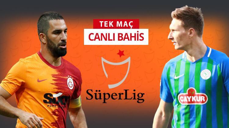 Çaykur Rizespor'da 3 eksik! Galatasaray maçına iddaa oynayanların %55'i...