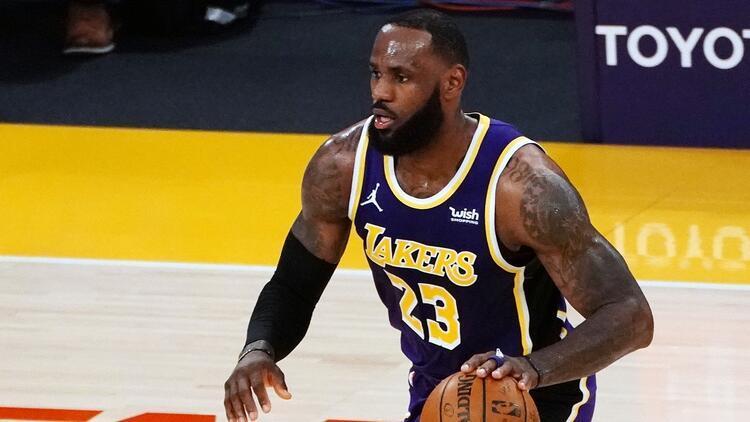 NBA'de Gecenin Sonuçları: Lakers kazandı, LeBron James'ten 37 sayı