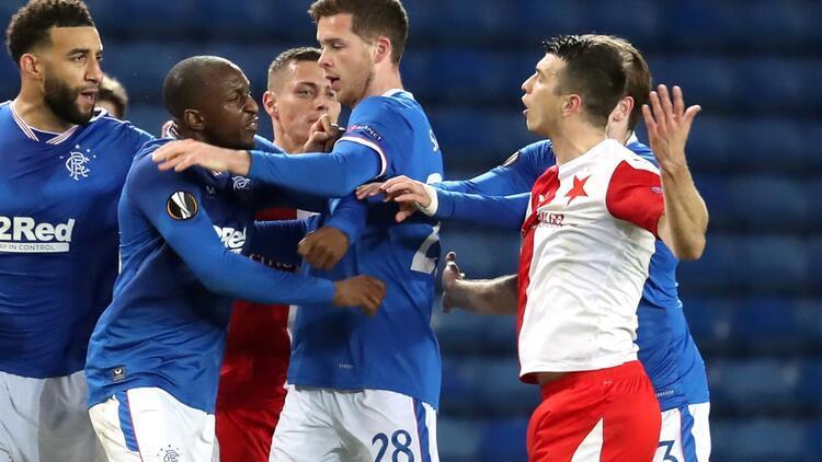 Rangers-Slavia Prag maçında ırkçılık iddiası