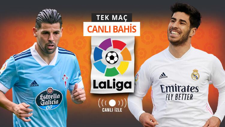 Real Madrid'de 4 önemli eksik! Celta Vigo'nun iddaa oranı, La Liga'da CANLI YAYIN...