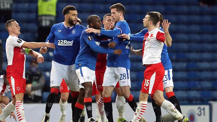 UEFA'dan Rangers-Slavia Prag maçındaki ırkçılık iddiasına soruşturma