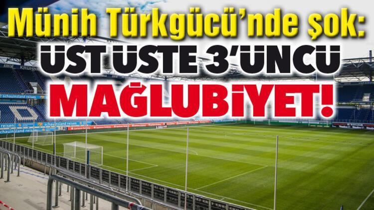 Münih Türkgücü'nde moraller bozuk