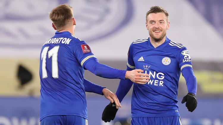 Leicester City ve Chelsea, İngiltere Federasyon Kupası'nda yarı finale çıktı