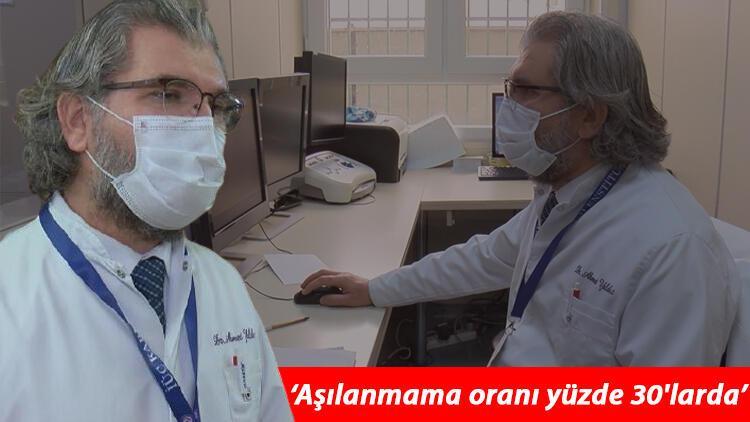Aşılanmama oranı yüzde 30larda diyen Prof. Dr. Ahmet Yıldızdan kalp hastalarına çok önemli koronavirüs aşısı uyarısı
