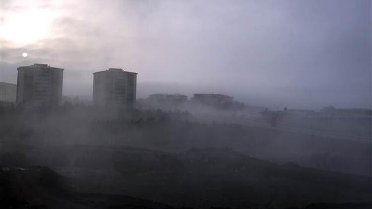Kırıkkale'de yoğun sis etkili oldu