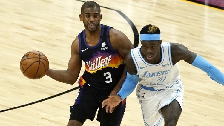NBA'de Gecenin Sonuçları: Chris Paul rekor kırdı, Suns'tan Lakers'a 17 sayı fark