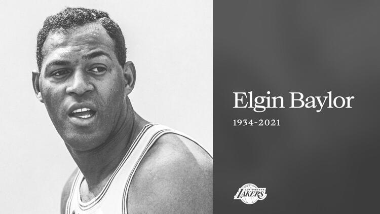 Los Angeles Lakers efsanesi Elgin Baylor hayatını kaybetti