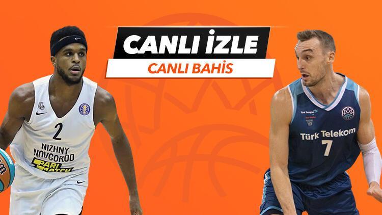 FIBA Şampiyonlar Ligi CANLI YAYINLA Misli.com'da! Türk Telekom'un iddaa oranı...