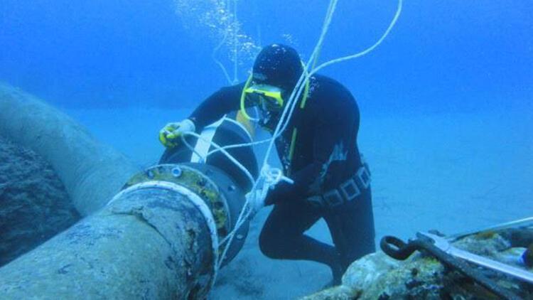 Karadeniz'deki kirlilik için balık adamlar devrede