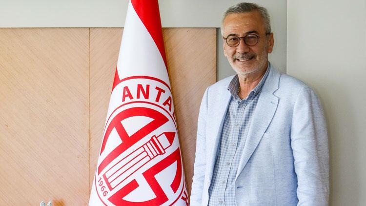 Antalyaspor Başkanı Mustafa Yılmaz: 'Hedefimiz Türkiye Kupası'