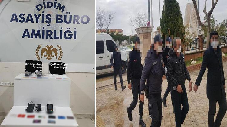 Kopya kredi kartıyla dolandırıcılığa 2 tutuklama