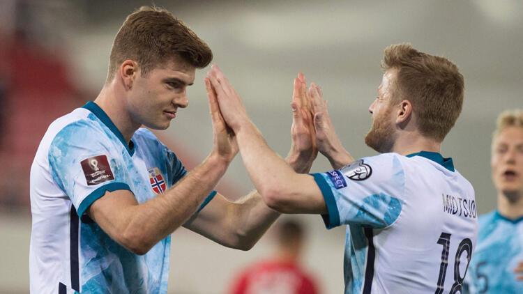 Norveç, Cebelitarık'ı 3 golle geçti