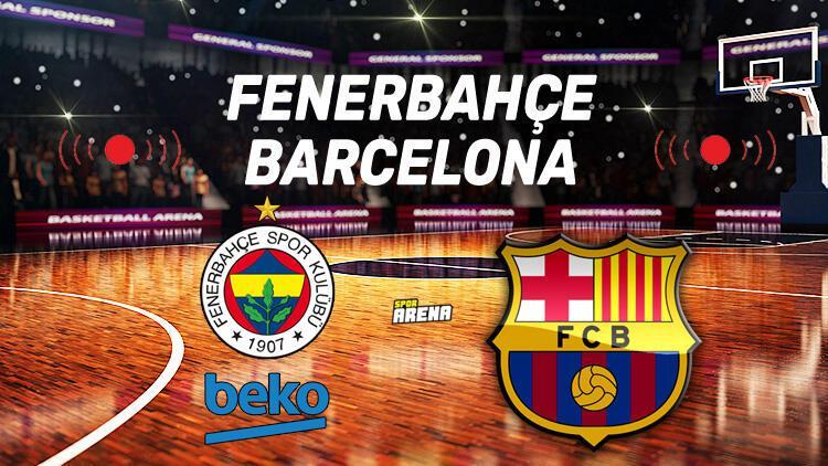 Fenerbahçe Beko Barcelona maçı saat kaçta, hangi kanalda?
