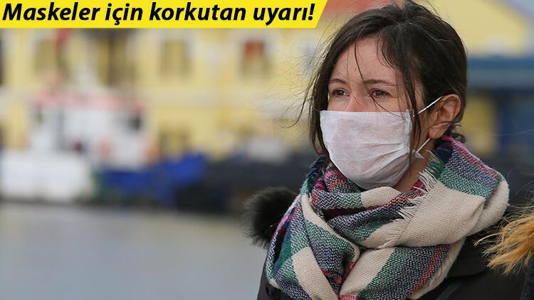 Bilim insanlarından korkutan uyarı: Bazı maskelerde 'ölümcül' kimyasal izleri bulundu