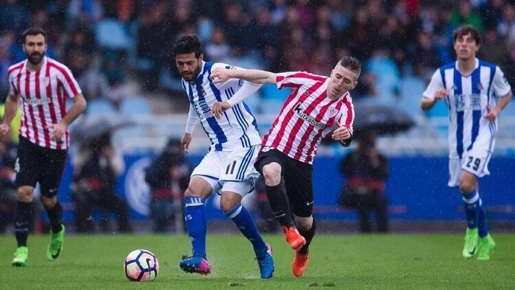 İspanya Kral Kupasında Athletic Bilbao ile Real Sociedad kozlarını paylaşıyor İşte yayın bilgileri...