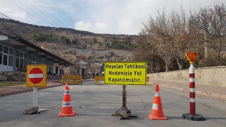 Kayseri'de heyelan riskine karşı 8 eve tahliye