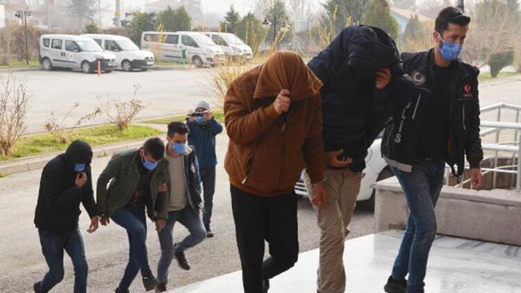 Konya'da uyuşturucu ticaretine 12 tutuklama