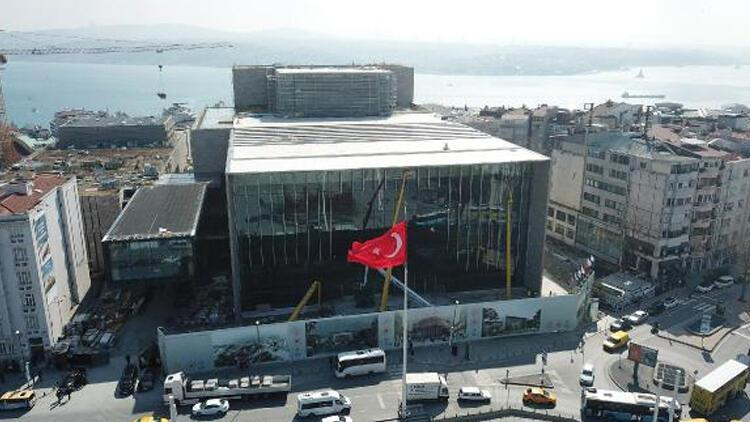 Atatürk Kültür Merkezi'nin inşaatı yüzde 90 tamamlandı