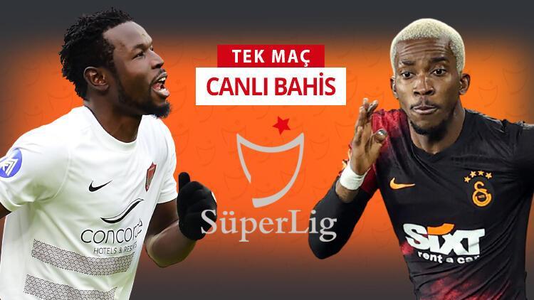 Hatayspor'da 5, Galatasaray'da 6 eksik! Bu maça iddaa oynayanların %52'si...