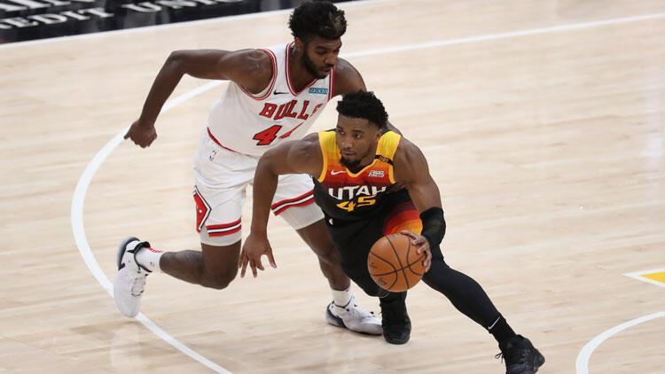 NBA'de gecenin sonuçları: Utah Jazz, evinde üst üste 21. kez kazanıp rekor kırdı!