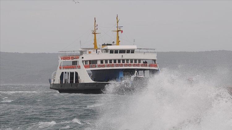 Gökçeada ve Bozcaada'ya yarın bazı feribot seferleri iptal edildi