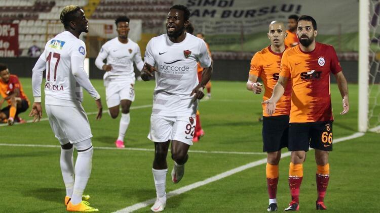 Hatayspor 3-0 Galatasaray (Maçın özeti ve golleri)