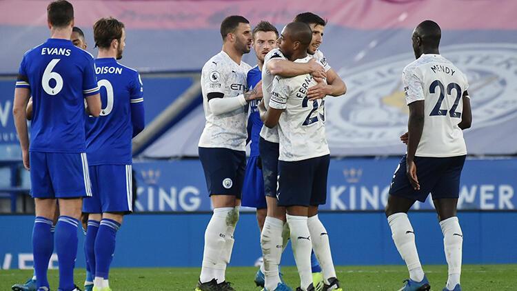Leicester City 0 - 2 Manchester City (Maç özeti)