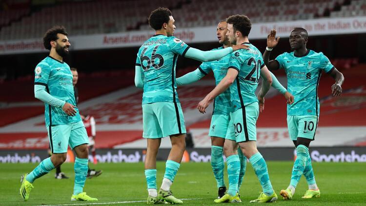 Arsenal 0-3 Liverpool / Maç sonucu