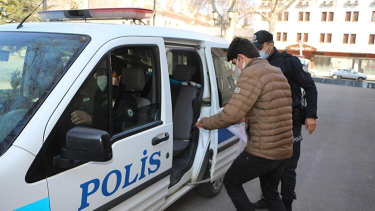 Tokat'ta MSÜ sınavına gireceklere polis yardımı