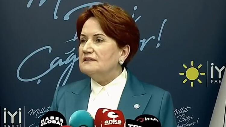 İYİ Parti Genel Başkanı Akşener'den bildiri tepkisi: Zevzekliktir