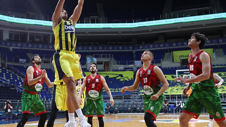 Fenerbahçe Beko 117 - 59 Pınar Karşıyaka