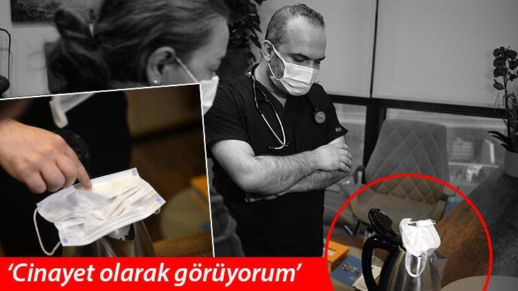 """Sosyal medyadaki """"kurtçuklu maske"""" iddiası! Uzmanlardan net cevap"""