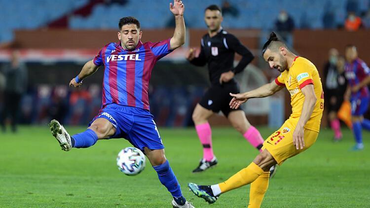 Trabzonspor 1-1 Kayserispor / Maç sonucu