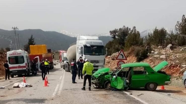 Muğla'da feci kaza! 2 kişi hayatını kaybetti