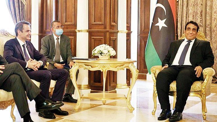 Eski sefir Libya başkanı olunca Miçotakis, kovduğu elçinin ayağına gitti