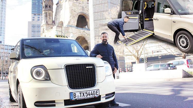 Berlin'de Londra taksisi! Kentte herkes onu arıyor