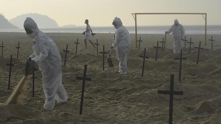 Brezilya'da acı tablo: Bir günde ilk kez 4 binden fazla kişi öldü