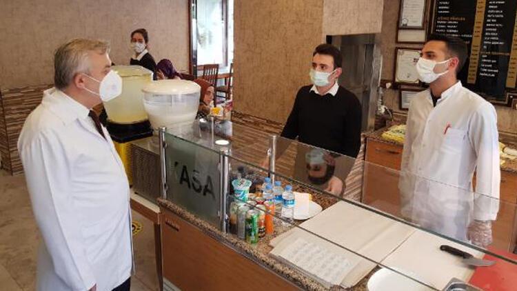 Kocaeli'de kafe ve restoranlara sıkı denetim! İl sağlık müdürü tek tek gezdi