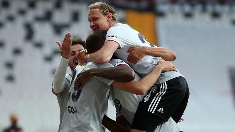 Beşiktaş 3-0 Alanyaspor (Maçın özeti ve golleri)
