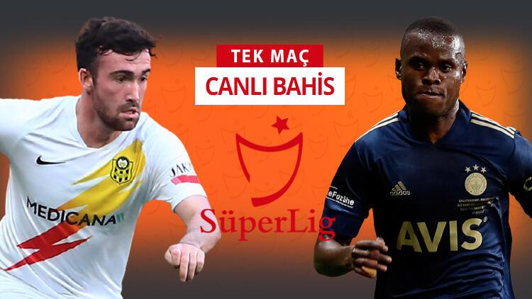 Yeni Malatyaspor'da tam 10 eksik var! Fenerbahçe'nin galibiyetine iddaa'da...