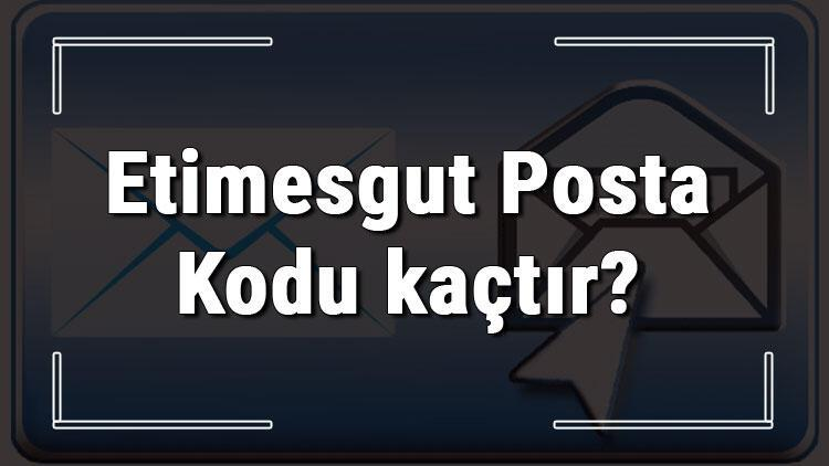 Etimesgut Posta Kodu kaçtır? Ankara'nın ilçesi Etimesgut'un ve mahallelerinin Posta Kodları