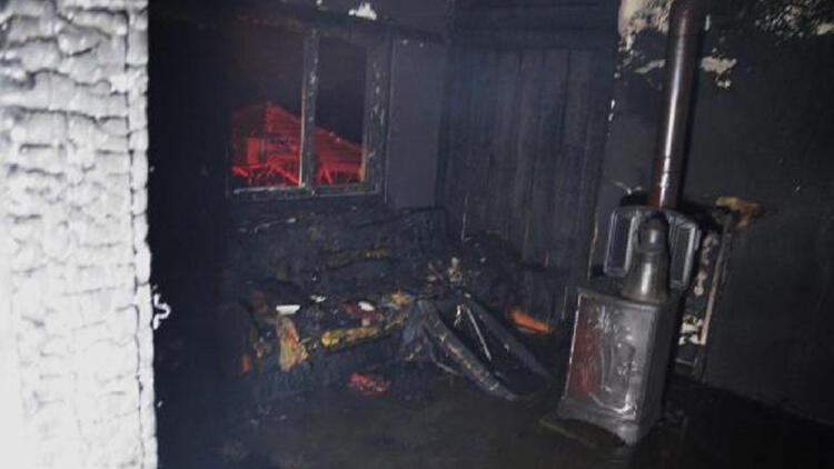 Kütahya'da ev yangını; 83 yaşındaki kadın öldü