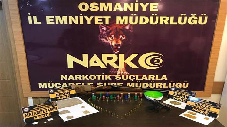 Osmaniye'de uyuşturucu operasyonunda 3 şüpheli gözaltına alındı