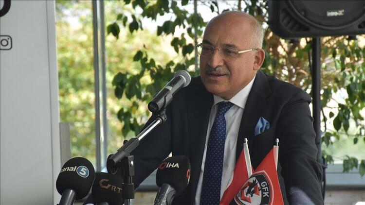 Gaziantep FK'da hedef Süper Lig'i ilk 5'te bitirmek