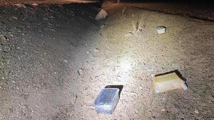 Polis takibe aldı, araçtan attığı çuvaldan 11 kilo metamfetamin çıktı