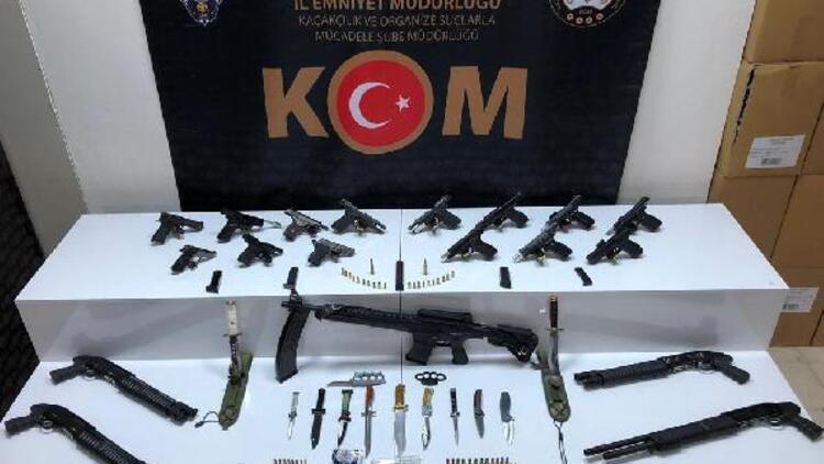 Samsun merkezli suç örgütü operasyonu: 24 gözaltı