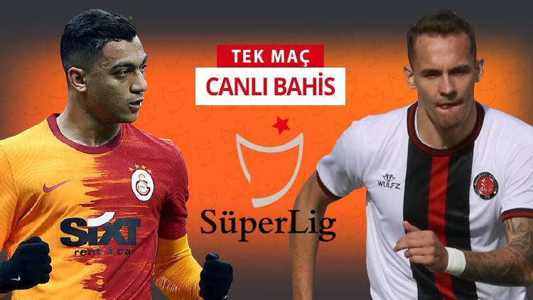 Karagümrük'te korona krizi, Galatasaray'da eksikler döndü! Bu maçın en popüler iddaa tercihi...