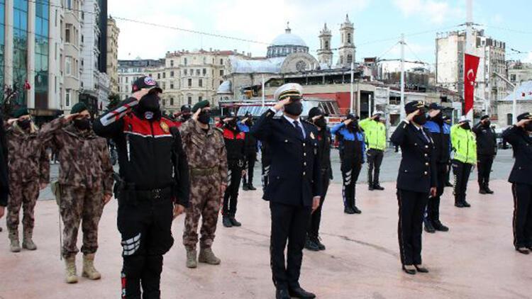 Türk Polis Teşkilatı'nın 176'ncı kuruluş yıldönümü kutlandı