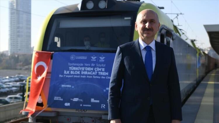Bakü-Tiflis-Kars Demir Yolu'nda taşınan yük 155 bin tona yükseldi
