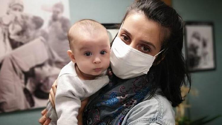 Doğuma günler kala koronavirüse yakalanmıştı! İyi haber geldi